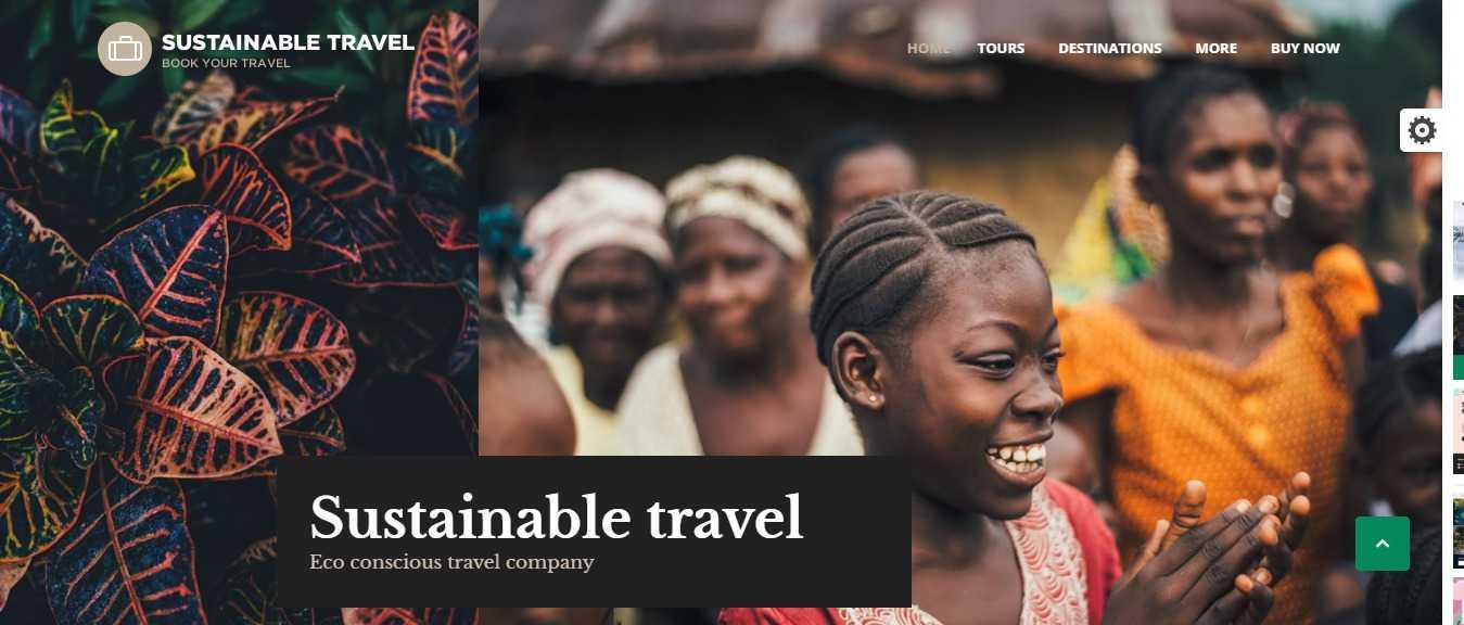 موقع شركة سياحة و سفر موديل Book Your Travel 3